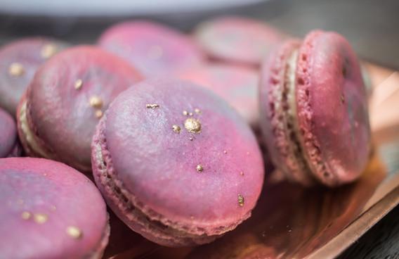 Watercolor Macarons