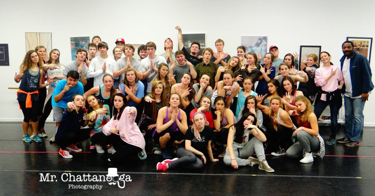 Master Class at Dalton Dance Theatre