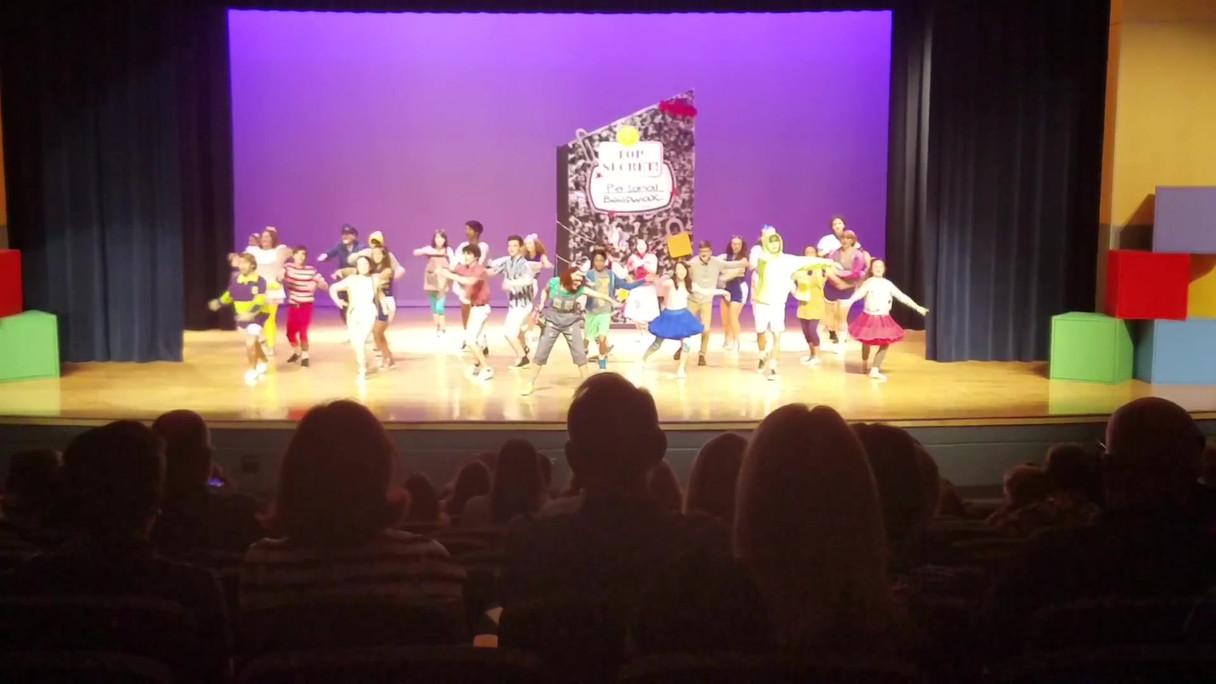 Choreography for Ringgold High School's Junie B. Jones