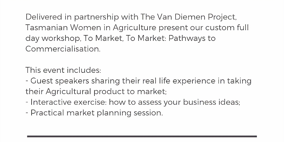 To Market! Pathways to Commercialization & Marketing your idea