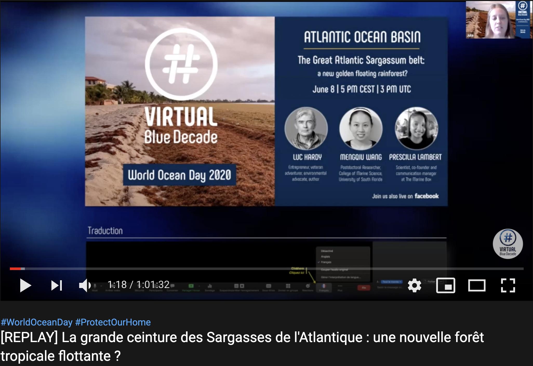 capture d'écran YT VBD 8 juin 2020