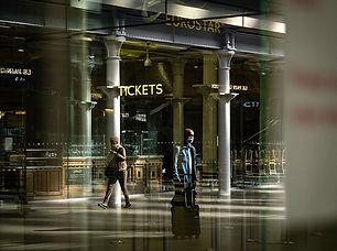 Train travel generates vastly fewer emissions than do flights.Credit: Leon Neal/Getty.jpg