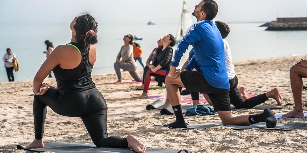 Karma Yoga at the beach