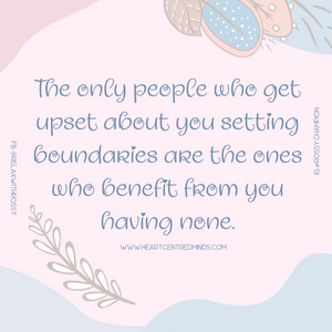 The power of healthy Boundaries