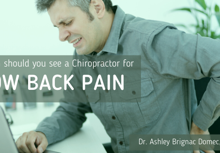 When Should I See A Chiropractor for Low Back Pain