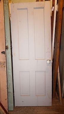 4-Panel Door with Hardware