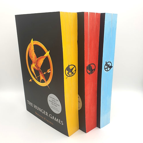 Hunger Games - Paperback Colour and Emblems