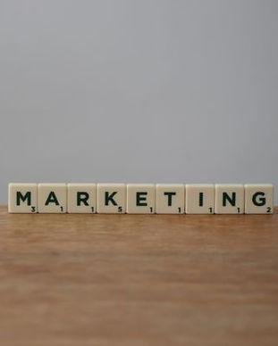 Canva - White and Black Marketing Word o