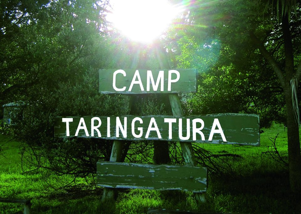 CAMP TARINGATURA SIGN
