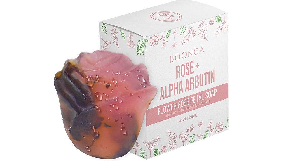 Boonga Rose Petal Soap