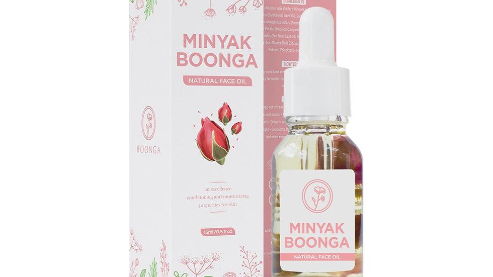 Natural Face Oil   Minyak Boonga