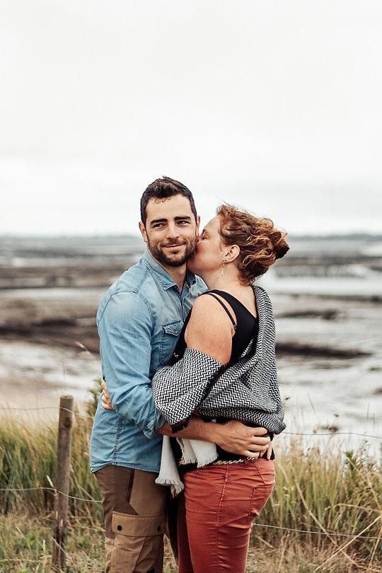 seance couple bretagne - Lenaig Mevel Photographe