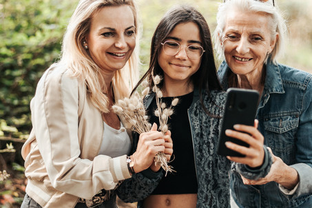 séance famille Brest Finistère - 3 générations