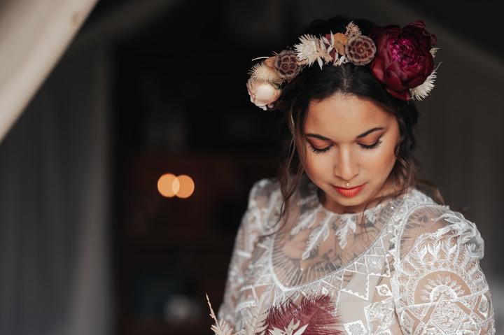 Photographe mariage bohème Brest