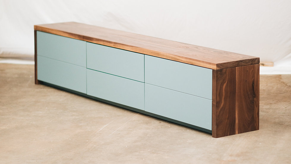 Solid Walnut sideboard