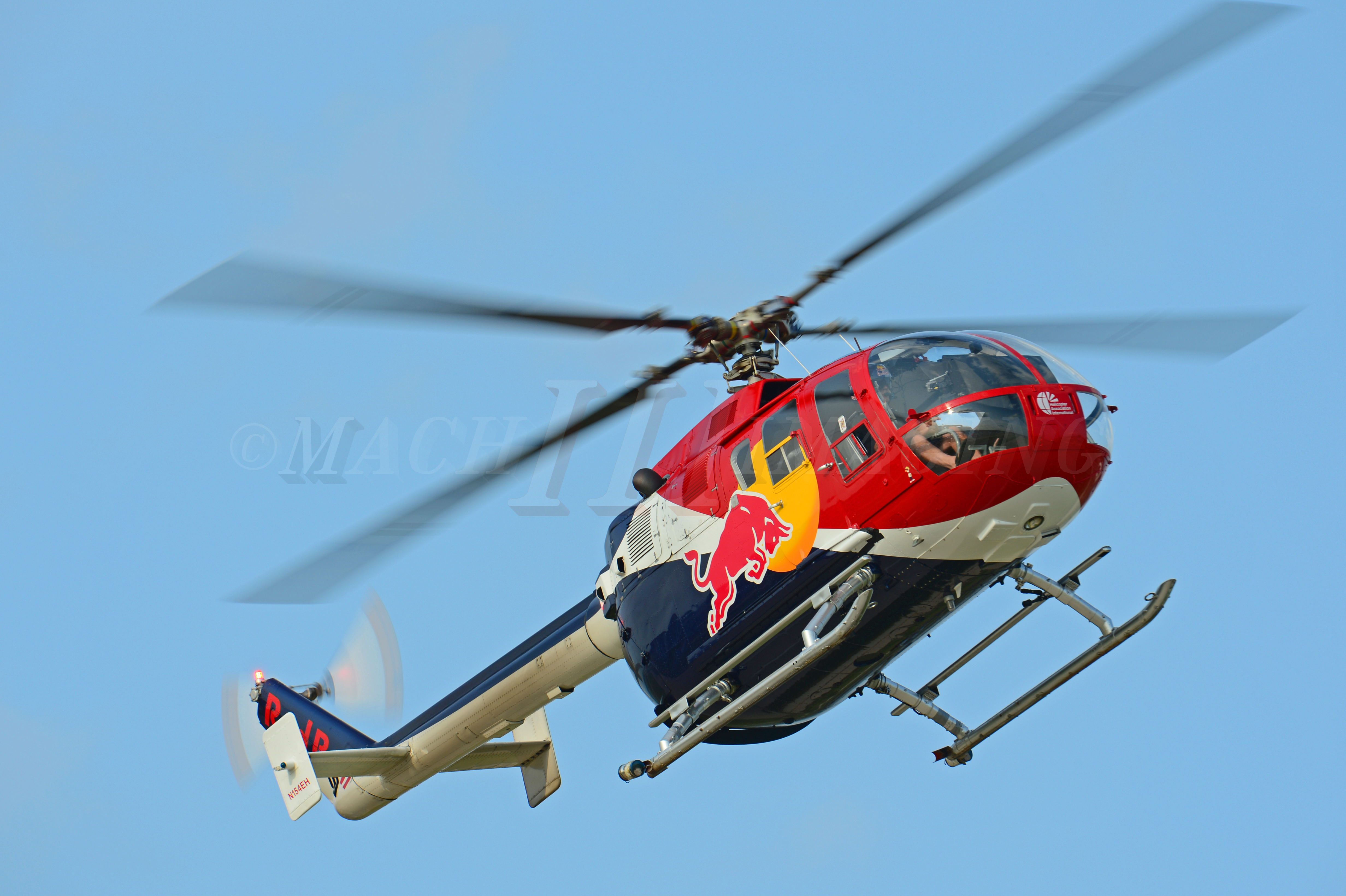 RedBull Helicopter Copyright