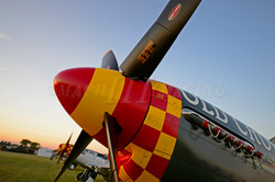 P-51s at Sunset 2 Copyright