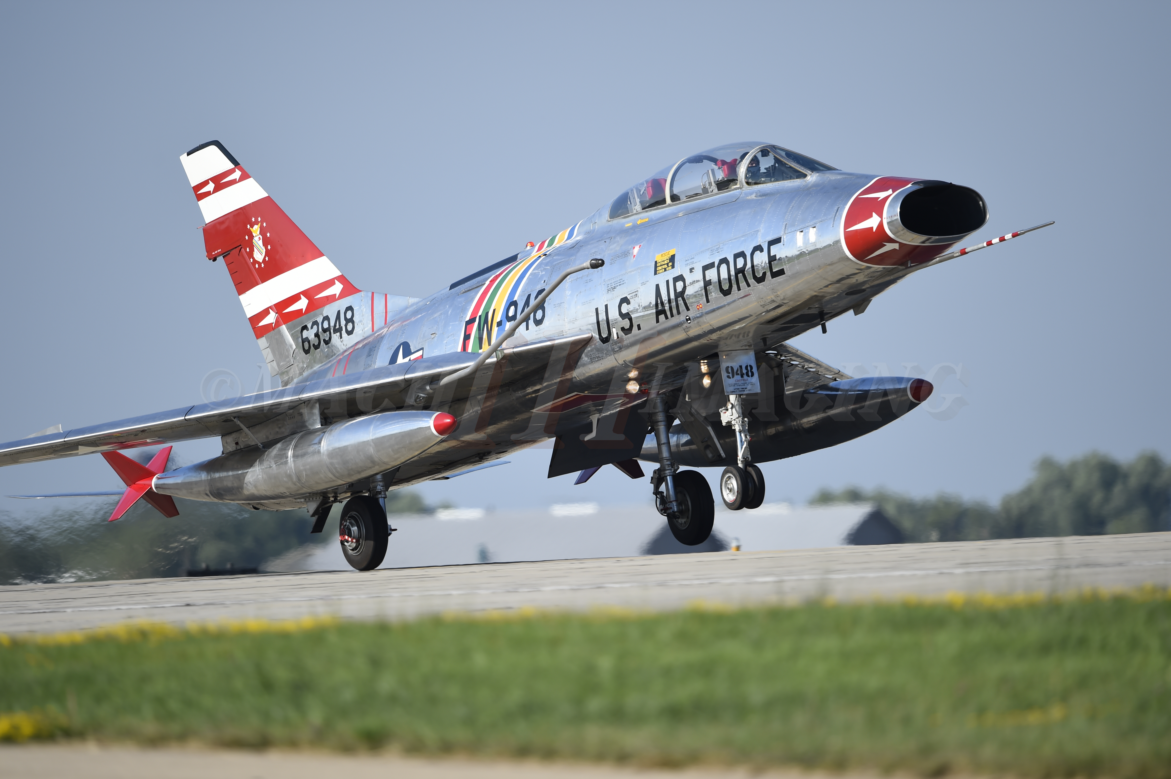 F-100 Super Sabre Copyright