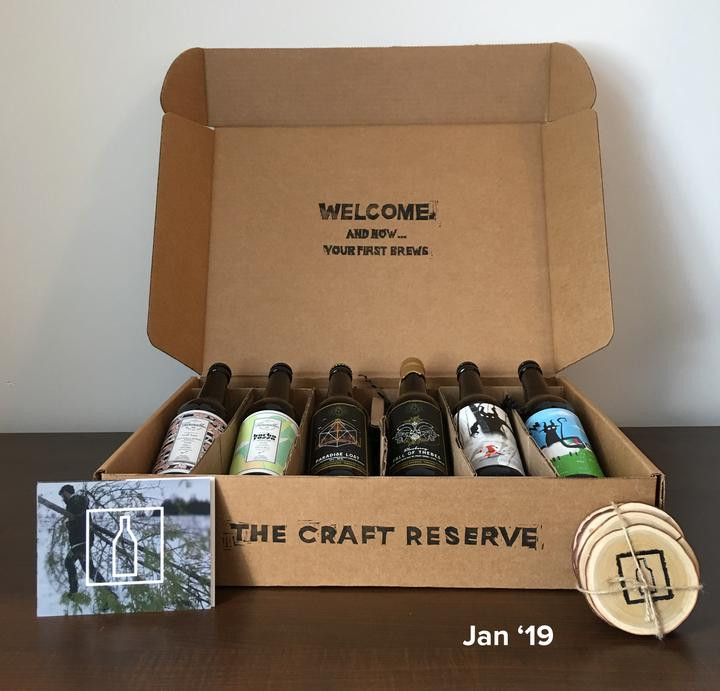 Box of Canadian Craft Beer