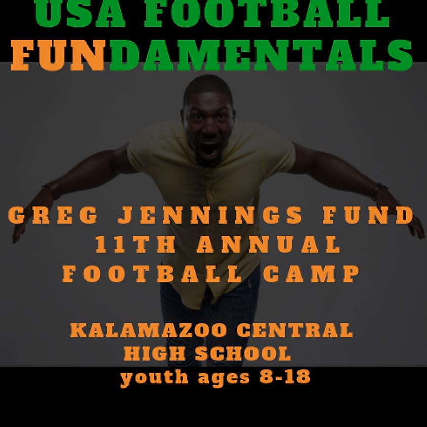 11th Annual Greg Jennings Fundamentals Camp