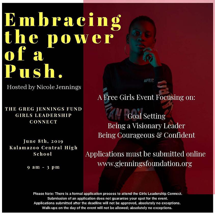 The Greg Jennings Fund Girls Leadership Connect