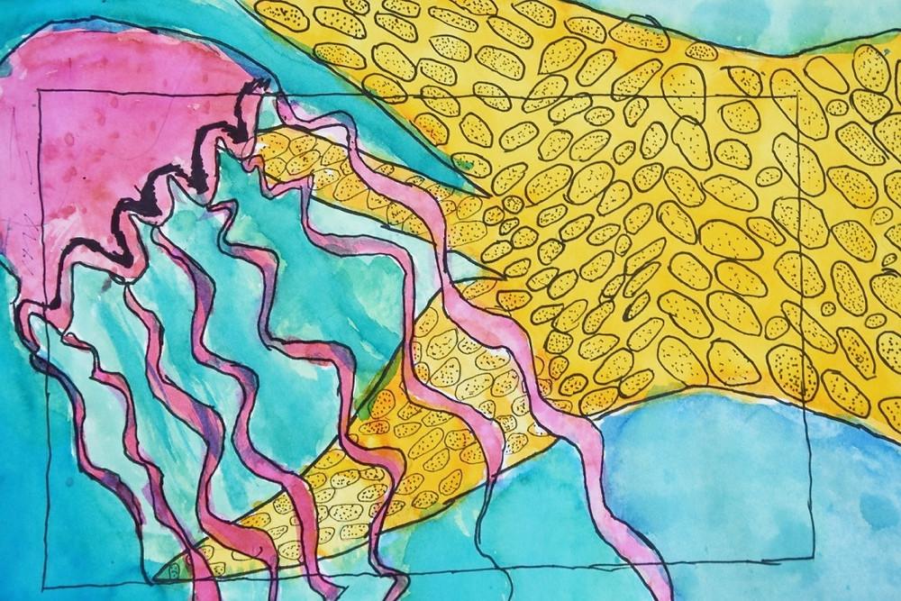 Artwork by Mauriasha - 6th grade