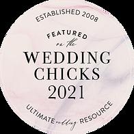 Wedding Chicks featured vendor hair and makeup artist 2021