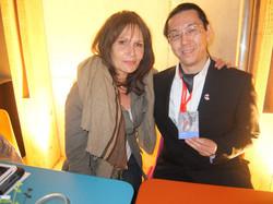 ma rencontre avec Clémentine Célarié