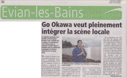 article sur Go Okawa