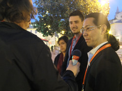 interview télé de Go Okawa