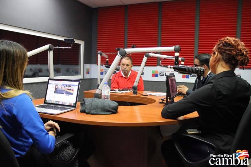 Programa radial: Puerto Rico Cambia