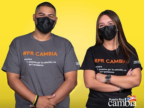 Camisa Oficial-#PRCambia