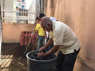 En marcha proyecto para la comunidad de Villa Palmeras