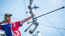 Bryan Alvarado se convirtió en campeón mundial de tiro al arco