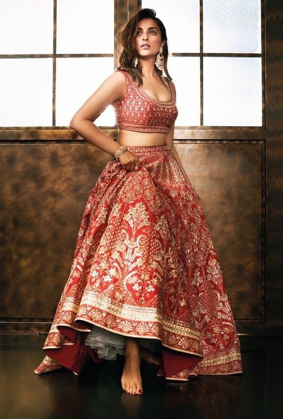 Cancan Lehenga for a Fuller Bust