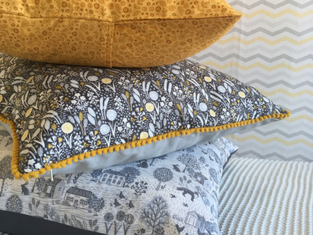 DIY Cushion tutorial - 3 stunning options to choose from.