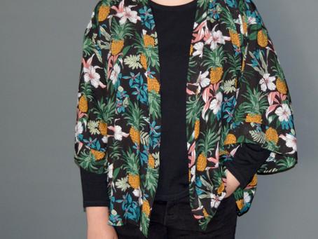 Free pattern and Tutorial for the NANCY Kimono