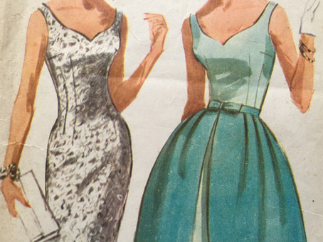 A Guide to Using Original Vintage Sewing Pattern
