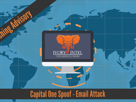 Capital One Spoof - Email Attack