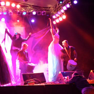 Roxani -Eleni Garefalaki performing with Zen Garden