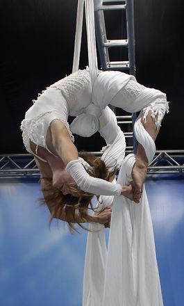 Roxani -Eleni Garefalaki aerial silks