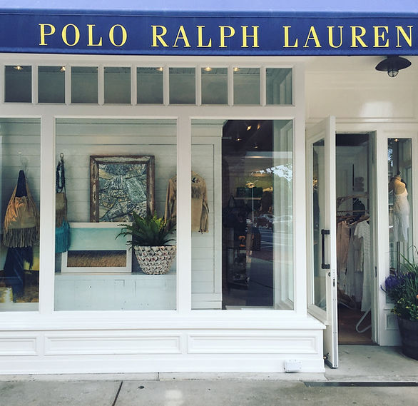 Work for Ralph Lauren East Hampton