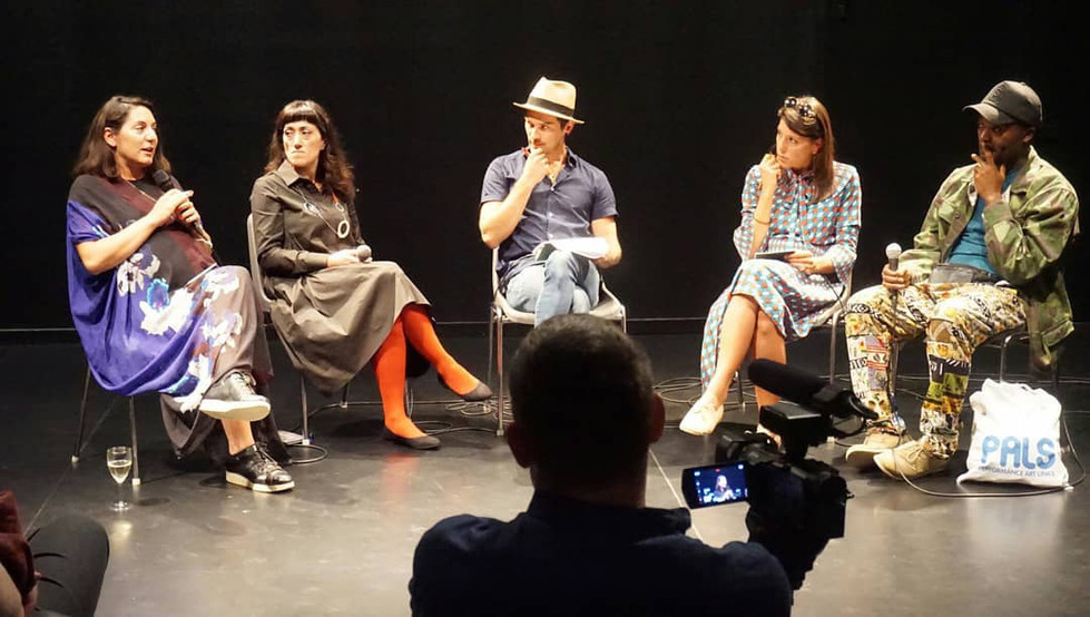 """""""End Point For Beginners"""" seminar, moderated by Marcio Carvalho with Abir Boukhari, Corina Oprea, Elena Agudio and Serge Olivier Fokoua"""