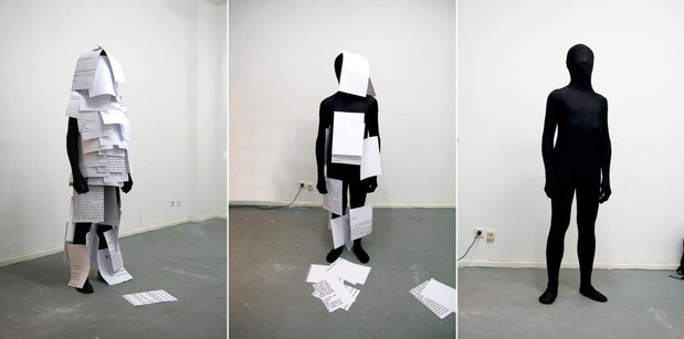 COLAB 10  /  Performance by Jelili Atiku (Nigeria) and Lan Hungh (Taiwan)  /  SAVVY Contemporary, Berlin