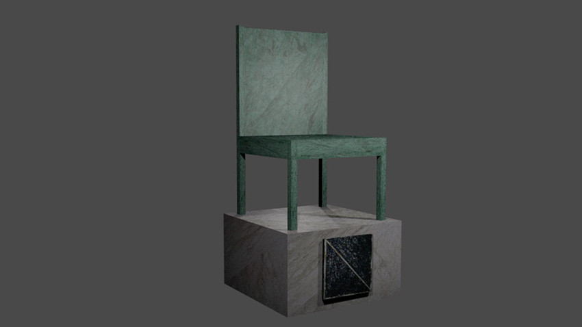 Model Chair - Counter Monument