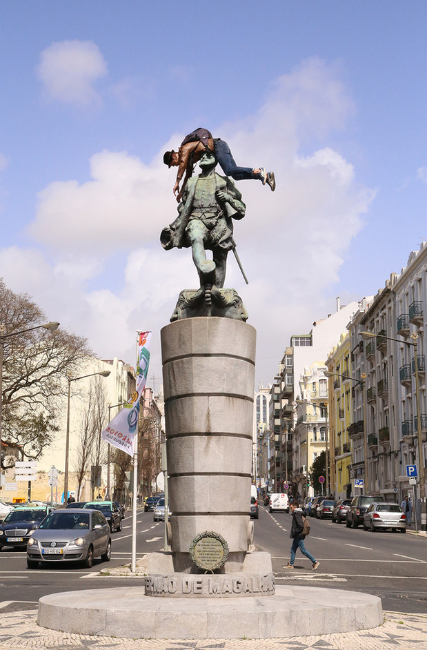 Fernão de Magalhães Statue  /  Chile Plaza, Lisbon