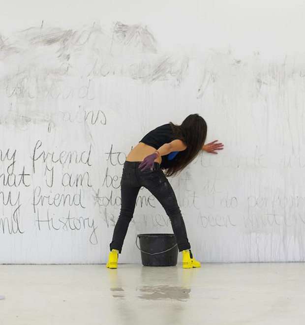 Performance by Diana Soria Hernandez (Finland/Mexico), PAB, Bergen, Norway