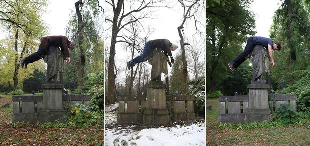 Jesus Christ statue / Bergmanstrasse Graveyard, Berlin