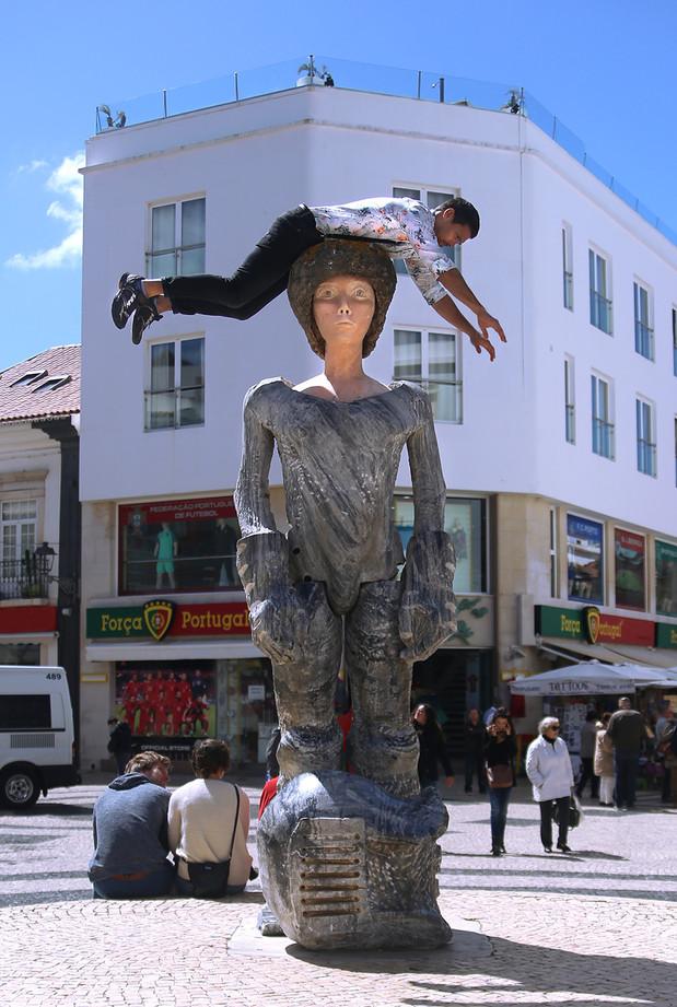 Dom Sebastião statue  / Lagos, Portugal