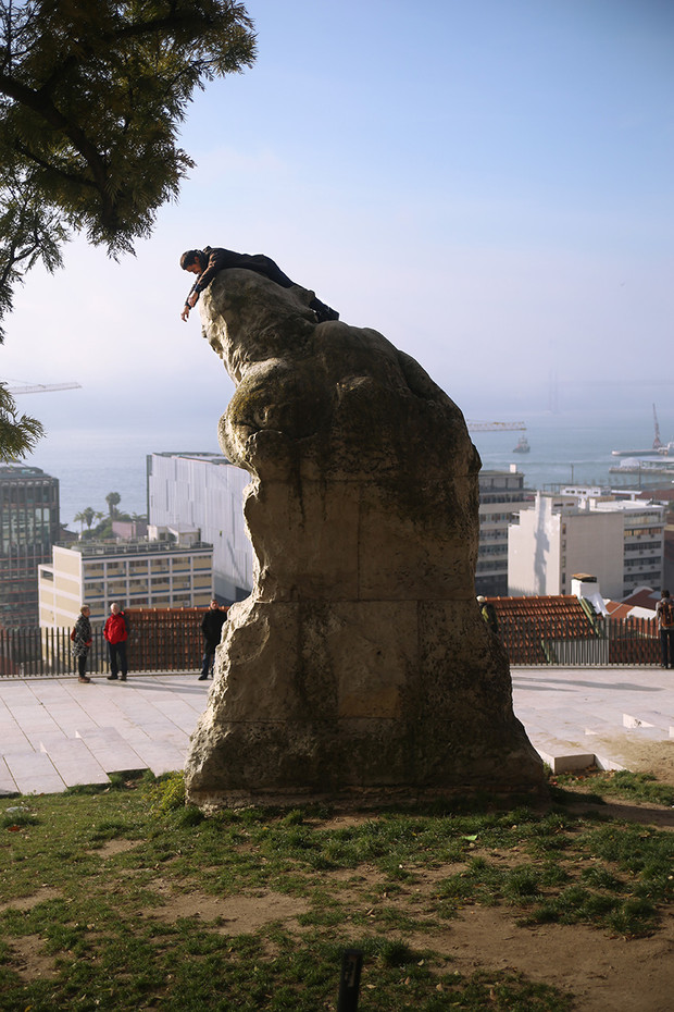 Adamastor statue  /  Lisbon